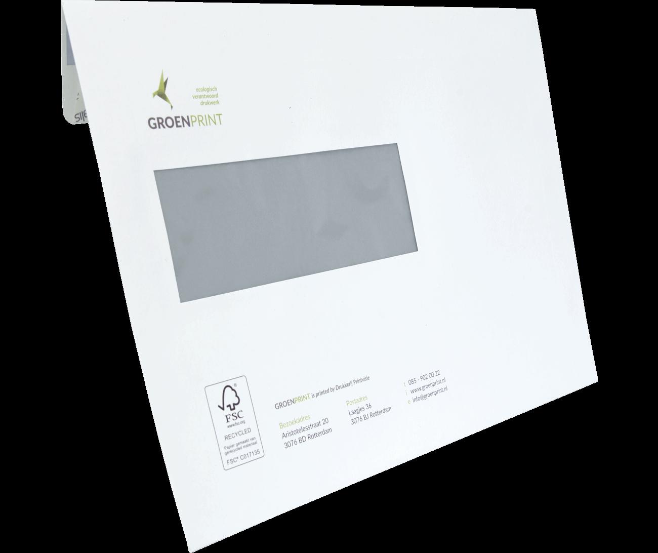 C5 enveloppen (gerecycled)