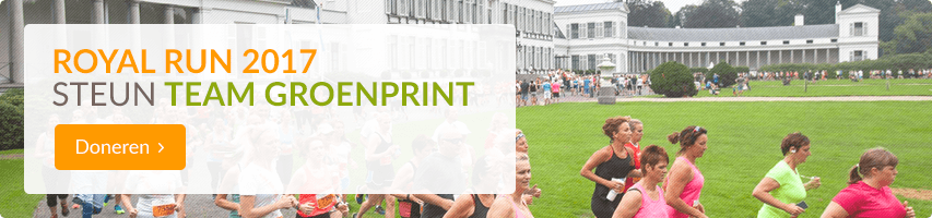 Groenprint Royal Run 2017 doneren