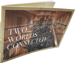 Brochure met cahiersteek drukken