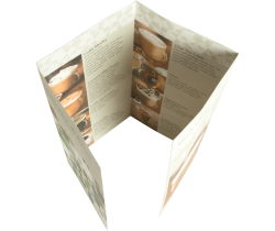 Folders 4-luik gesloten luikvouw