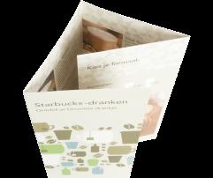Folders 4-luik wikkelvouw (250 grams)