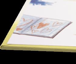 Hardcover boek schutbladen