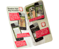 iPhone wenskaarten (personaliseren met NAW-gegevens)