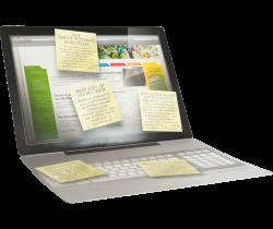 Laptop folders drukken