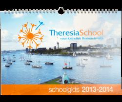 Schoolkalenders ophangoog
