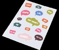 Stickers (contouren)