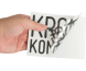 Transparante stickers